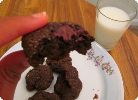 double chocolate cookies 003
