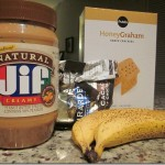 Peanut Butter Chocolate Banana Boats
