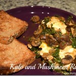 Mushroom, Kale, and Poached Egg