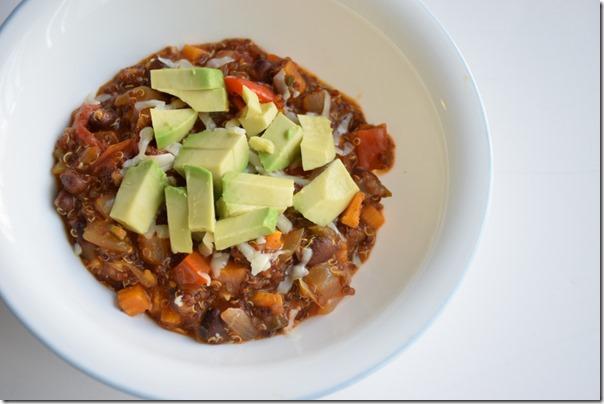 Quinoa enchilada 2
