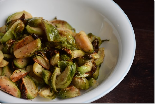 Maple Roasted Brussels Sprouts 3